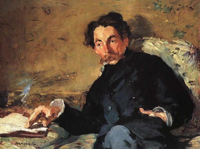 Édouard Manet, Ritratto di Stéphane Mallarmé, 1876