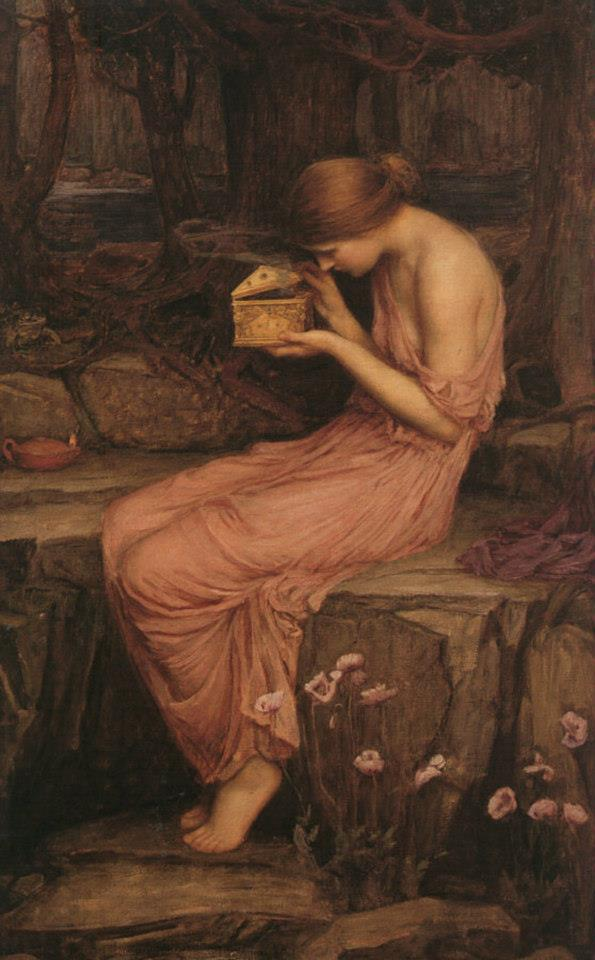 john-william-waterhouse-psiche-apre-la-scatola-doro-1903