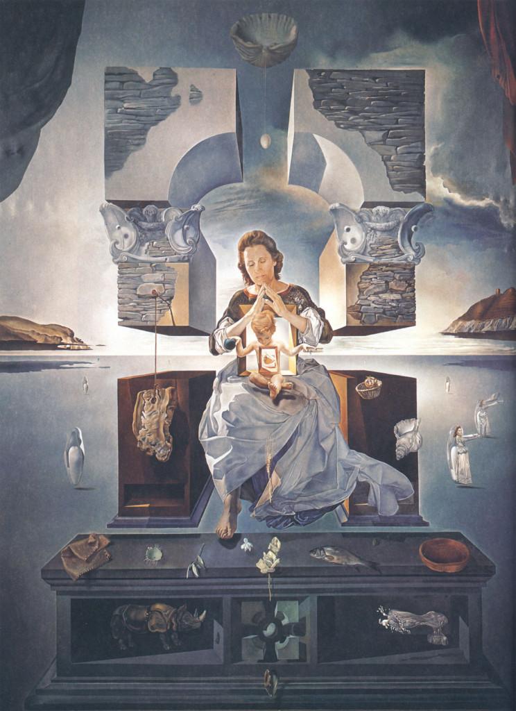 Salvador-Dalì-Madonna-di-Port-Lligat-1950