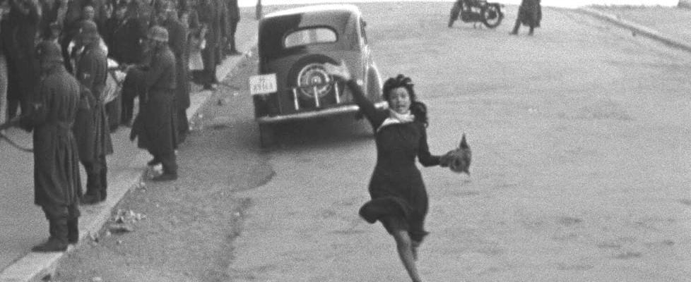 """Anna Magnani e """"Roma città aperta"""""""